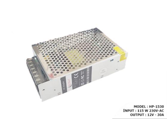 Hi Port Hp-1530 12V 30 Amper Metal Led Adaptör