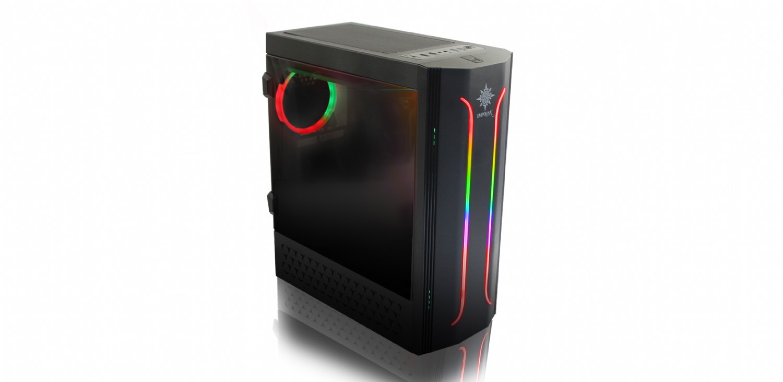 INCA EMG-21XB 750W 80 PLUS 4X120MM RGB FAN USB 3.0