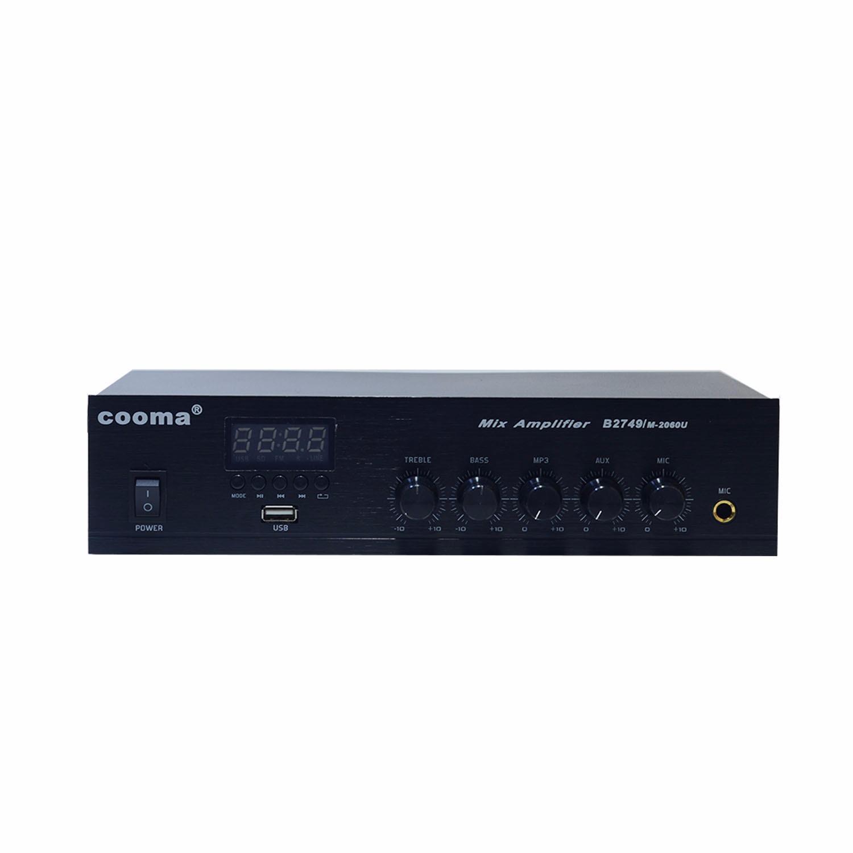 COOMA B 2749 M-2060 60 Watt USB-Bluetooth 1-Aux 1-