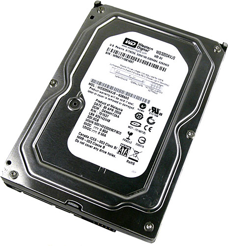 "Wd Av-Gp Wd3200Avjs 320Gb 3.5"" Hdd"