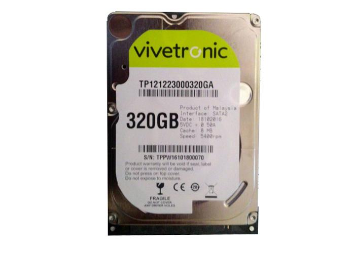 "Vivetronic 320GB 3.5"" SATA II 5900RPM 8MB Cache Hard Disk"