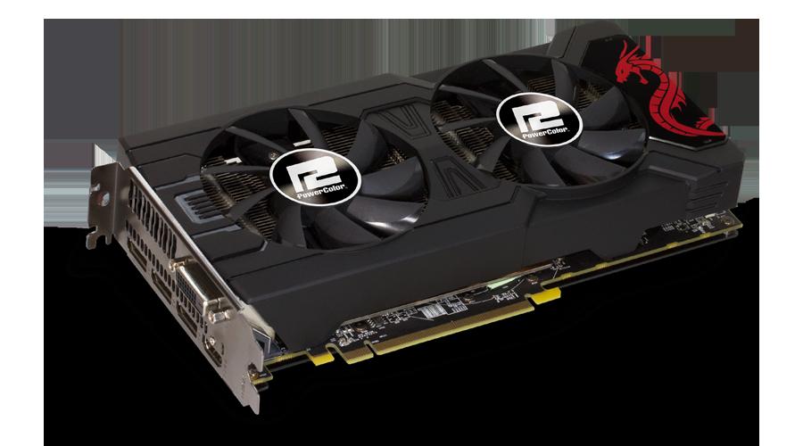 PowerColor AXRX 570 8 GBD5-3DHD/OC RED DRAGON RX 570 8 GB GDDR5 Ekran Kartı
