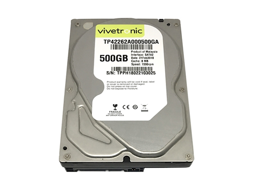 "Vivetronic 500 Gb 5400 Rpm 3.5"" Hard Disk"