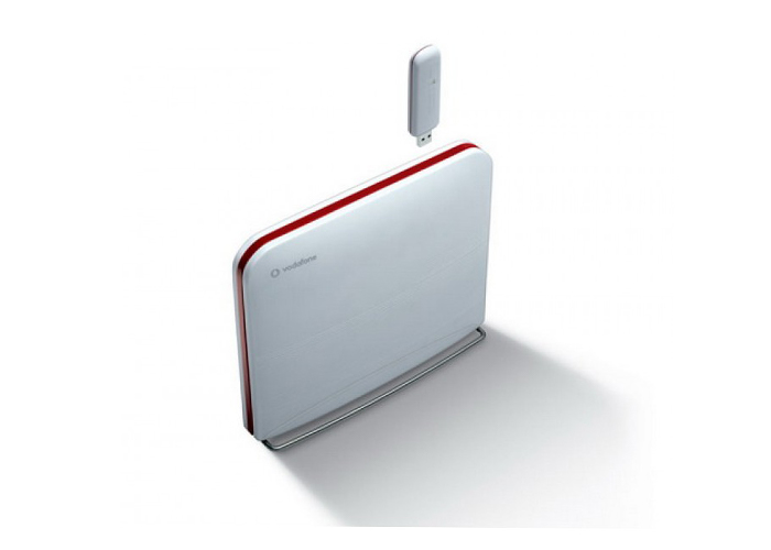 Huawei Vodafone HG556a Adsl2 Modem + 3G Multi İnternet + Router 4 Port