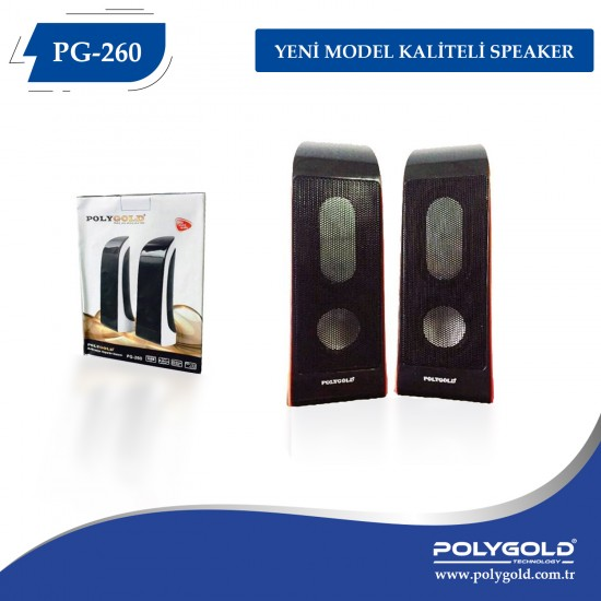 POLYGOLD PG-260 1+1 SPEAKER