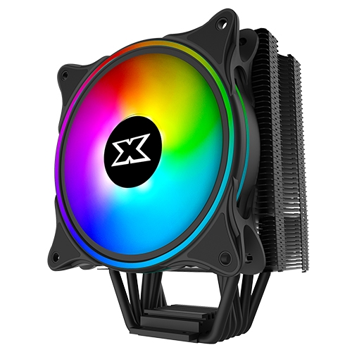 Xigmatek Windpower WP 1266 EN42388 İntel/Amd Tümü 120mm AT120 Rainbow PWM Fan Fan CPU Soğutucu