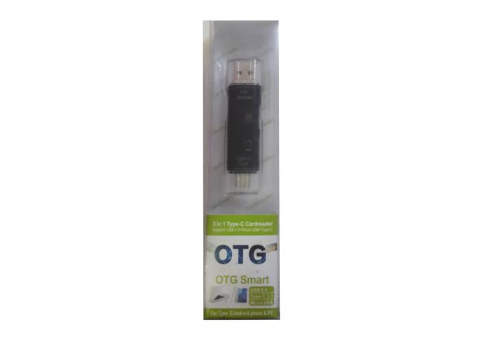 Platoon PL-8698 USB + Type-C OTG Kart Okuyucu