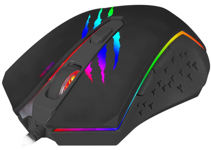 Xtrike Me GM-203 Backlit 2400DPI Optik Oyuncu Mouse