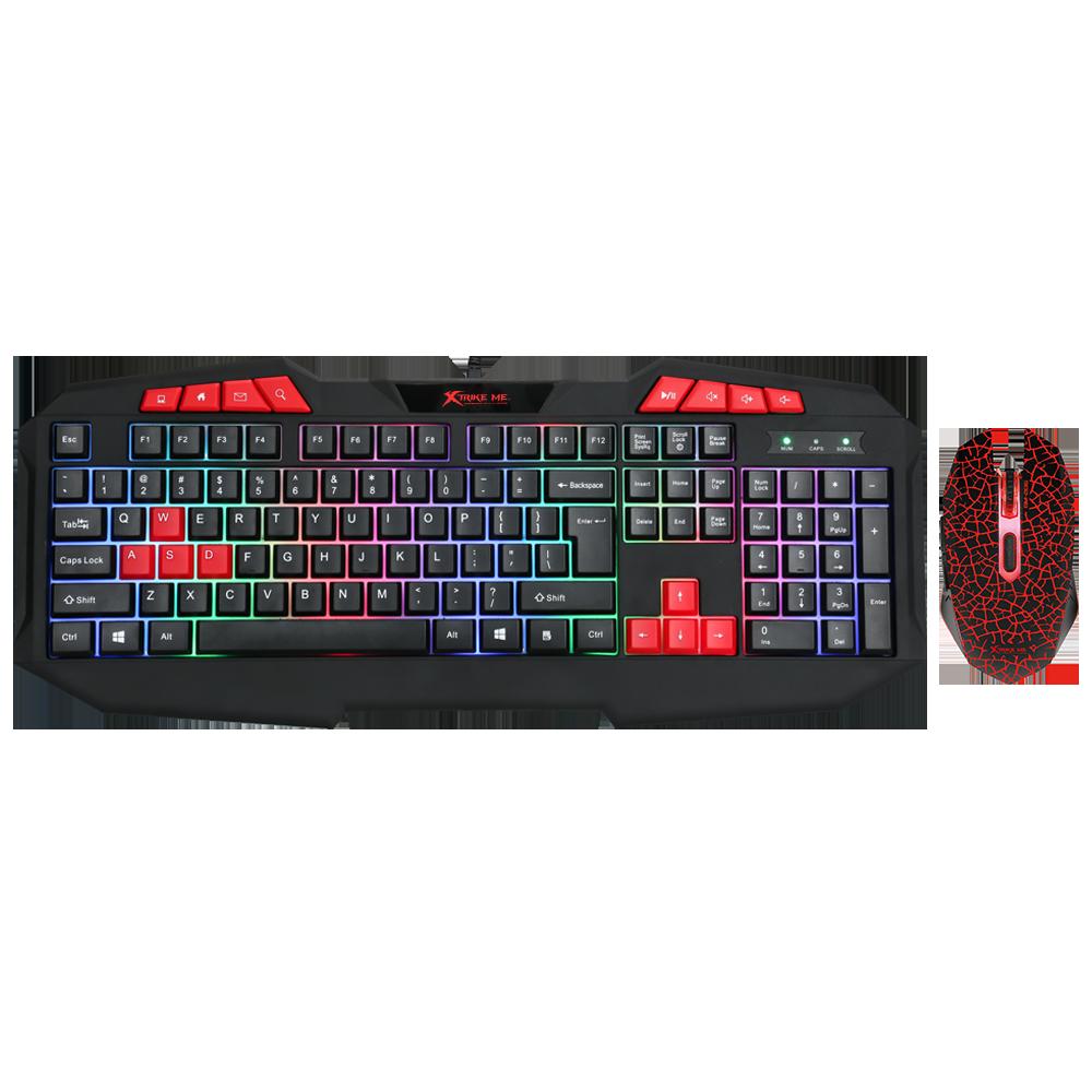Xtrike Me MK-503KIT Klavye + Mouse Oyuncu Kiti