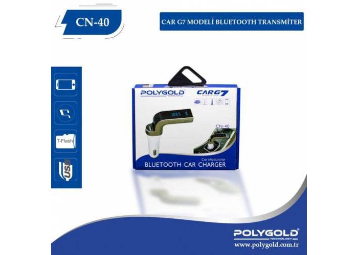 PolyGold CARG7 CN-40 FM Bluetooth Transmitter
