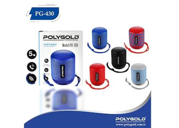 Polygold PG-430 Bluetooth Speaker Kablosuz Hoparlör