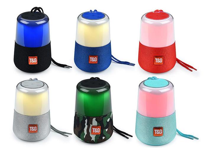 Polygold PG-379 Işıklı TF-USB Bleutooth Speaker (TG-168)