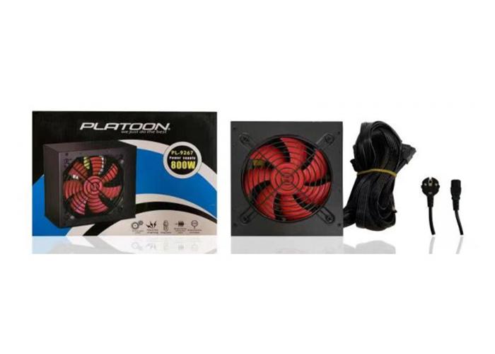 Platoon PL-9267 800W Kutulu Power Supply
