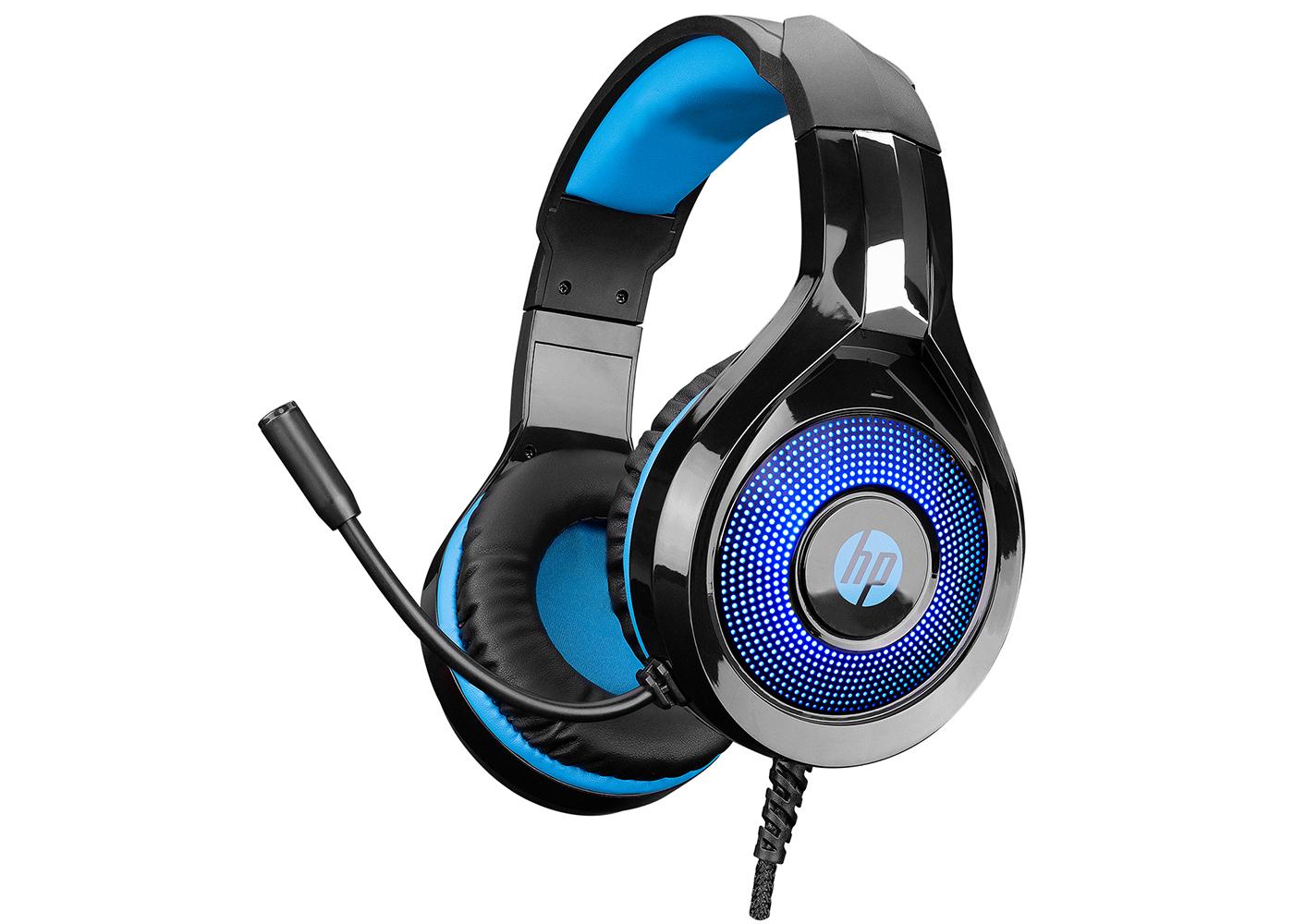 HP DHE-8010 Siyah Gaming Oyuncu Mikrofonlu Kulaklık