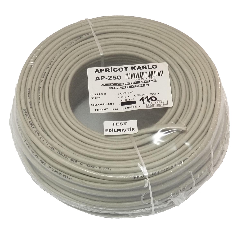 Apricot Ap-250  100M Cctv 2+1 0,50Mm Kablo