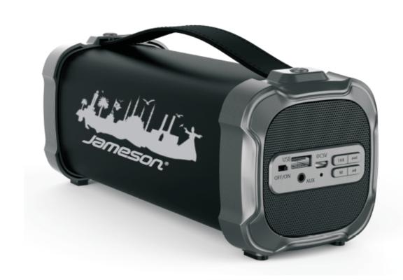 Jameson BT-1250 Siyah Universal Bluetooth Taşınabilir Bluetooth Hoparlör
