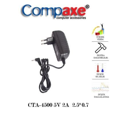 Compaxe Cta-4500 5V 2A Tablet Pc Adaptör