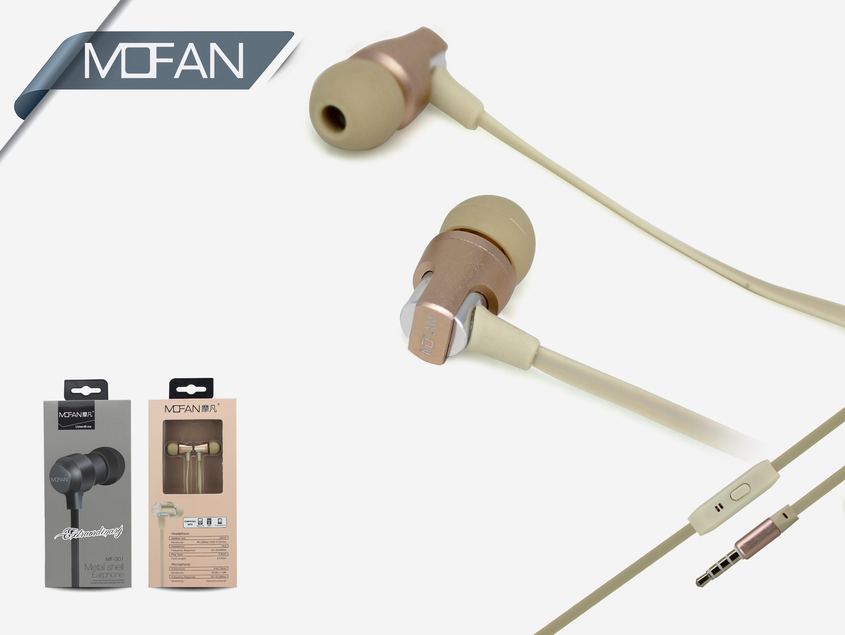 Mofan Mf-002 Hd1262 Kulaklık Pembe