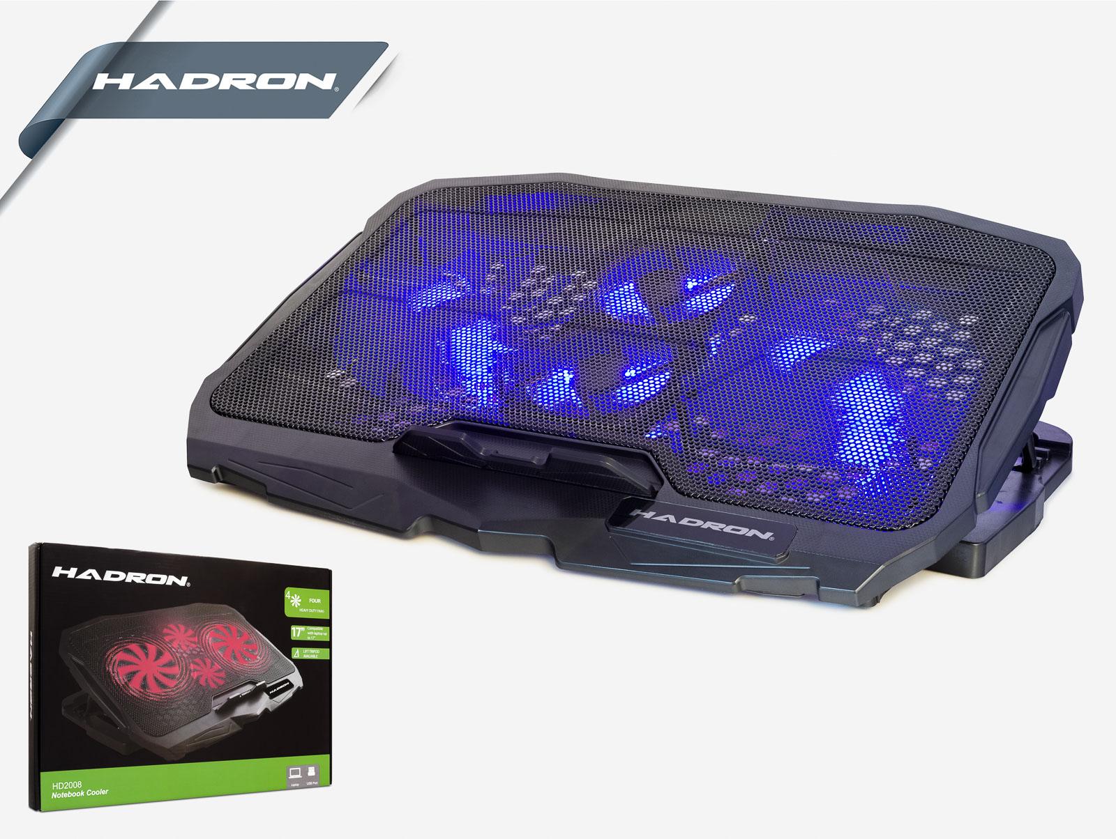 Hadron Hd2008 Notebook Soğutucu Ledli 4 Fanlı