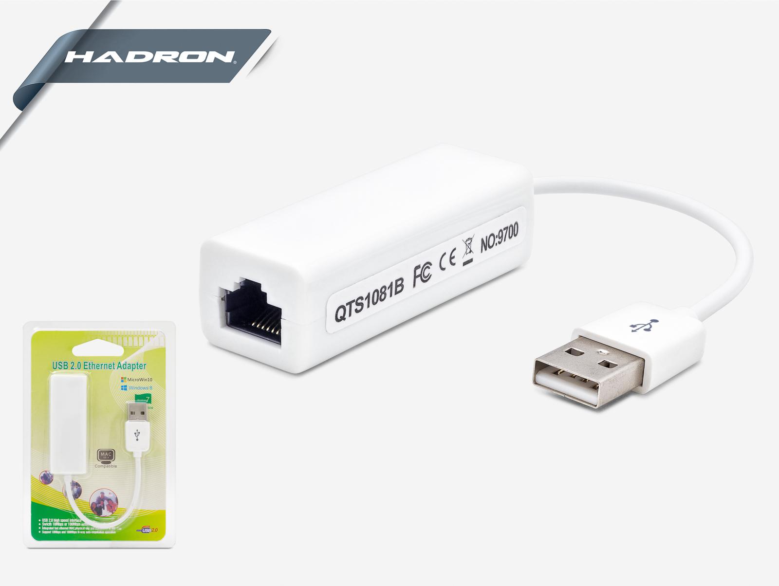 Hadron Hd2212 Usb To Ethernet Çevirici