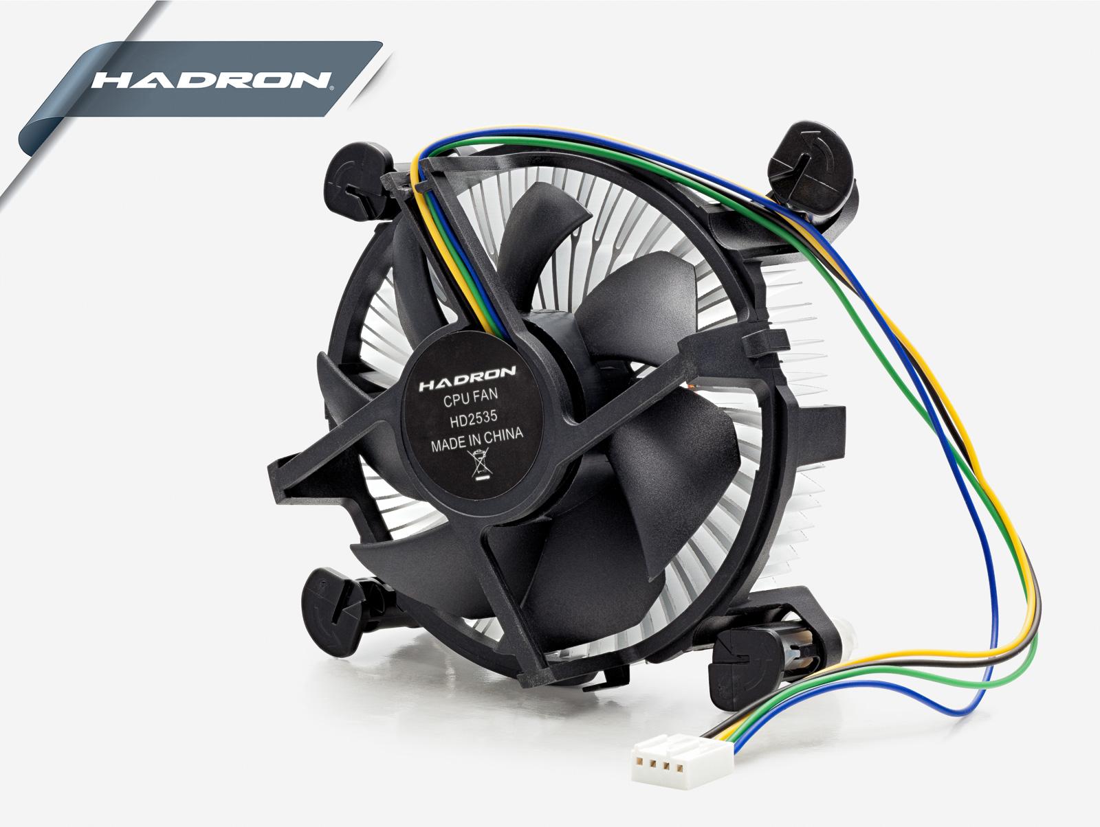 Hadron Hd2535 Intel 1155/1156 Geçmeli Tip İşlemci Fanı