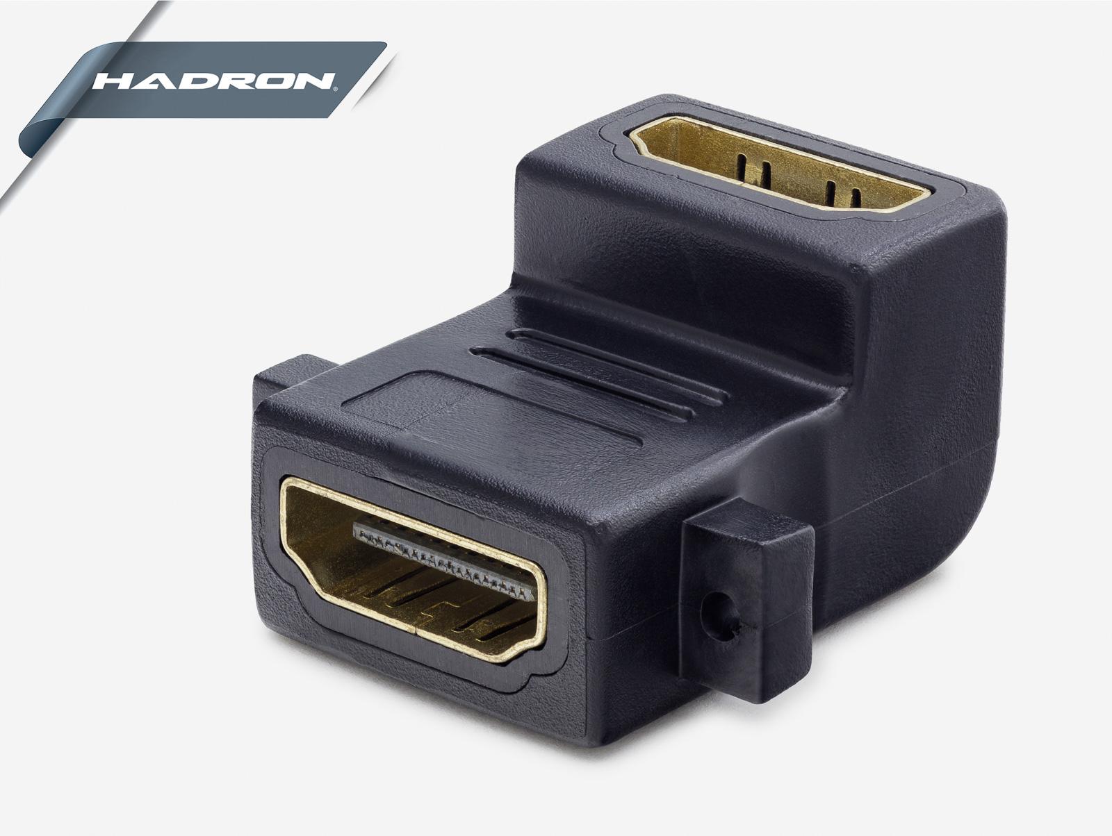 Hadron Hd4132 Hdmı Adaptör F/F L Tip