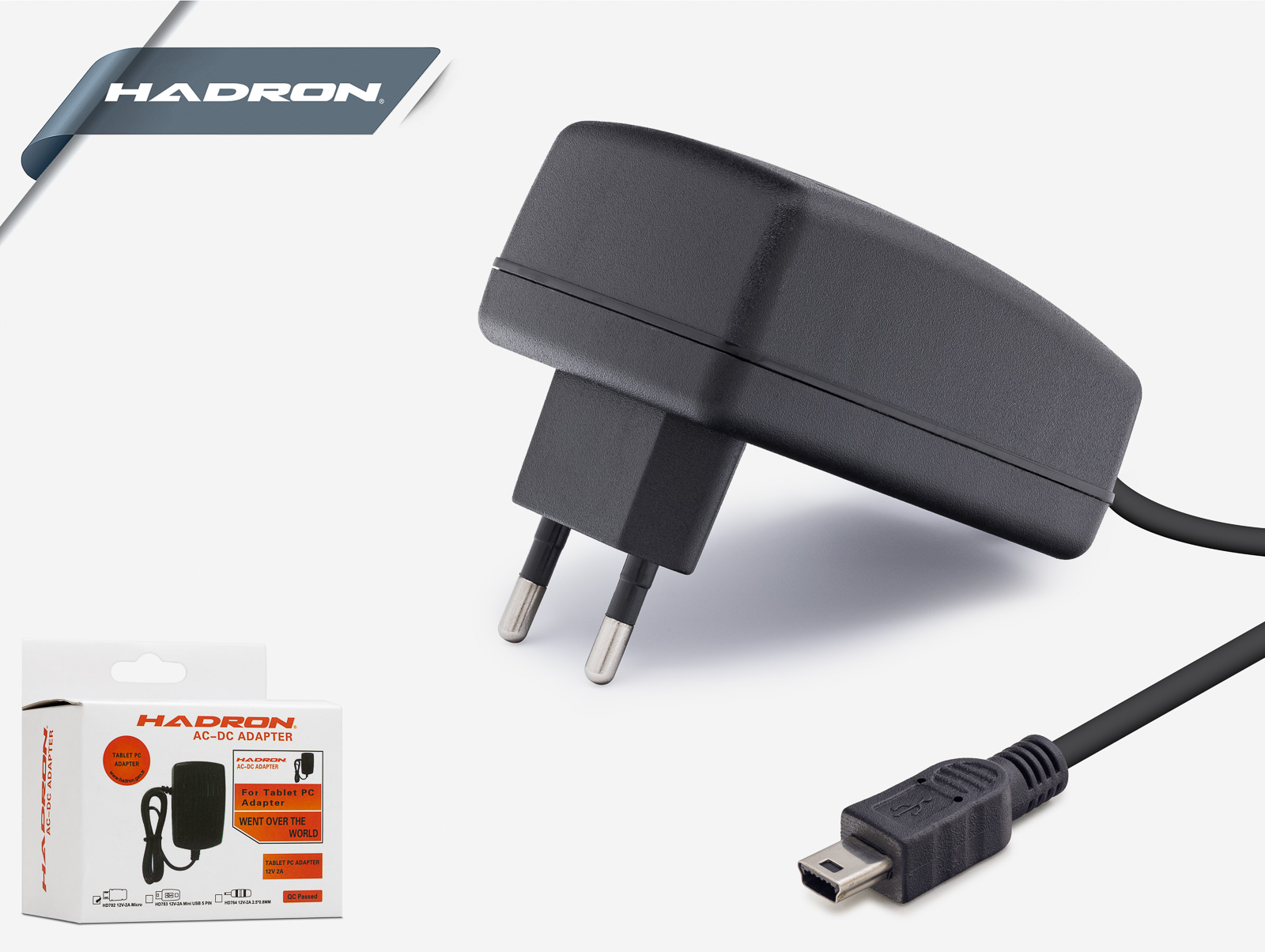 Hd782 Tablet Adaptörü 12V 2A Mıcro Usb