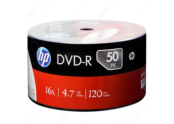 Hp Dvd-R 16X 50Li Spindle 4.7Gb 120Dk (Dme00070-3)