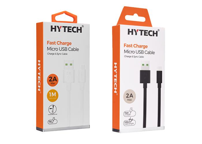 Hytech HY-X83 1m 2A Micro Usb 6'lı Kutu Karışık Renk Şarj Kablosu