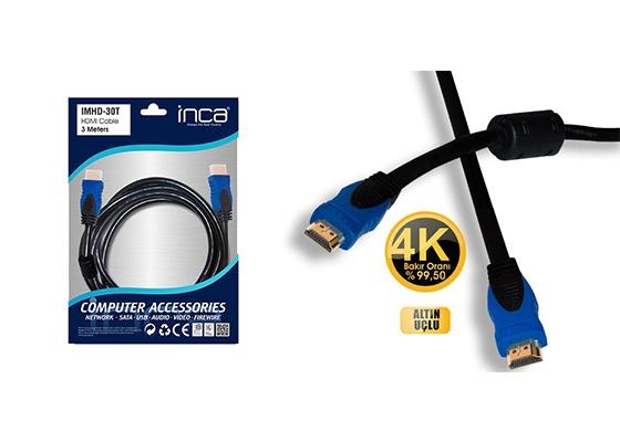 Inca Imhd-30T 3Mt 1.4 Hdmı Kablo