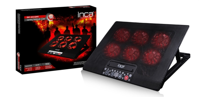 Inca Inc-601Gms 6 Fanlı Gaming Notebook Laptop Soğ