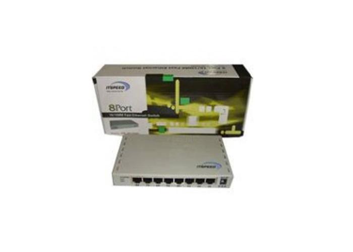 ITSPEED Switch 8 Port 10/100Mbps RJ45 Port (ITP-SF1008D)