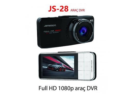 Jameson Js-28 Araç Kamerası İkili Dvr Gps Full Hd
