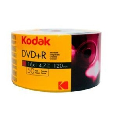 Kodak Dvd-R 16X 4.7Gb 50Li-Value Pack