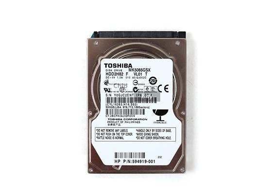 "Toshiba Mk5065Gsx 500Gb 2.5"" Sata Hdd"