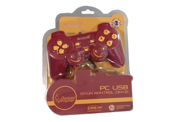 Kontorland Pc-Gs-905 Pc Analog Gamepad