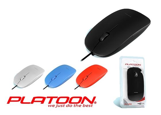 Pl-1080 Usb Mouse Vakumlu Siyah