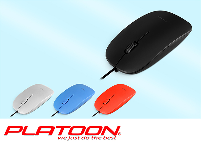Pl-1084 Usb Mouse Kutu Kırmızı