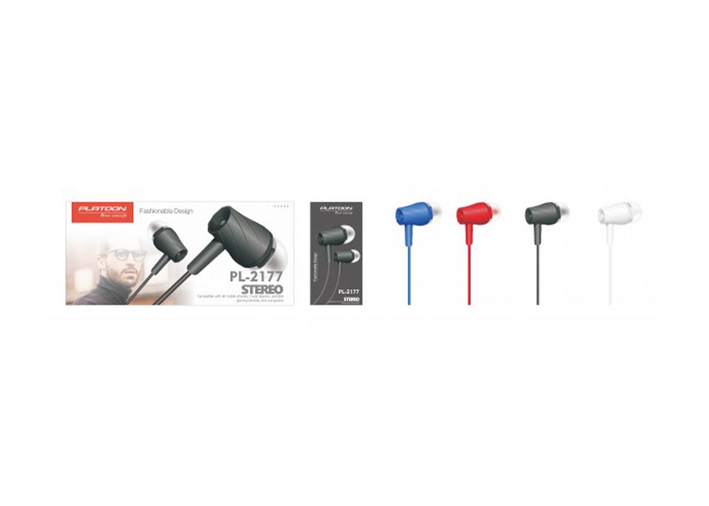 Platoon PL-2177 40 Lı Stand Mikrofonlu MP3 Kulaklık