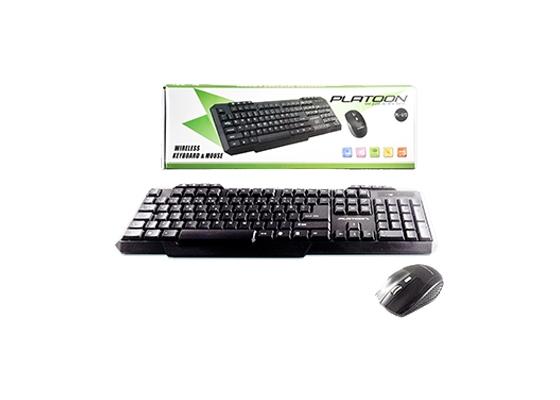 Pl-372 Wıreless Klavye Mouse Set