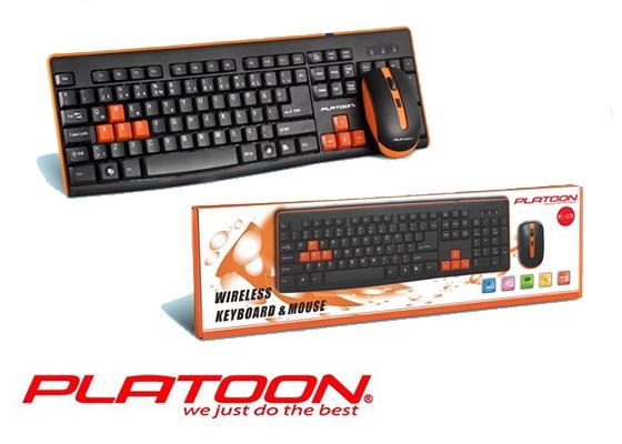 Pl-378 Wıreless Oyun Klavye Mouse Set