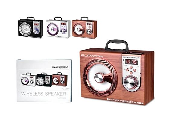 Pl-4337 Usb/Sd/Fm Bt Speaker