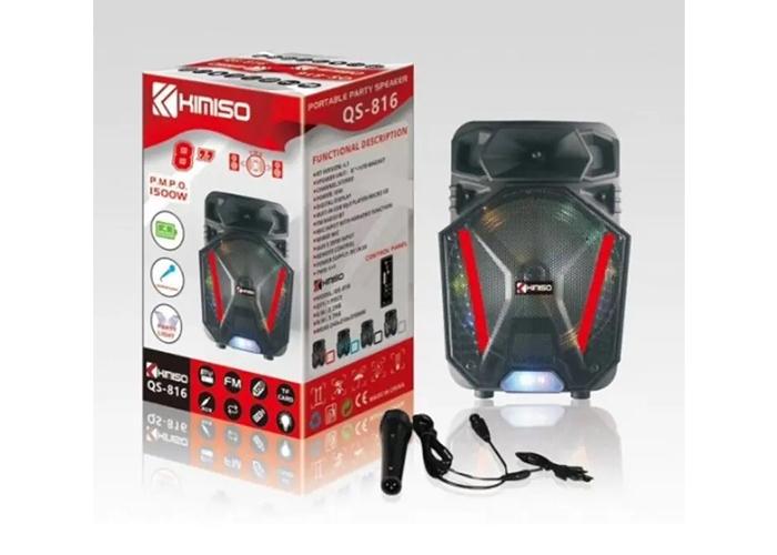 Platoon PL-4430 Bluetooth USB/SD/AUX Karaoke Mic. Speaker