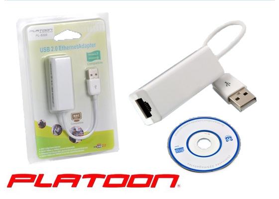Platoon PL-5665 USB to RJ45 USB Ethernet Kartı