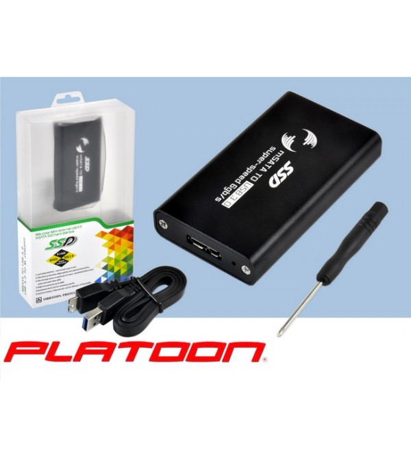 Platoon Pl-8892 Msata Usb 3.0 Hdd Box
