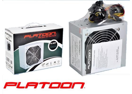 Platoon PL-9257 300W Kutulu Power Supply (2 Sata / 12Cm Fan)