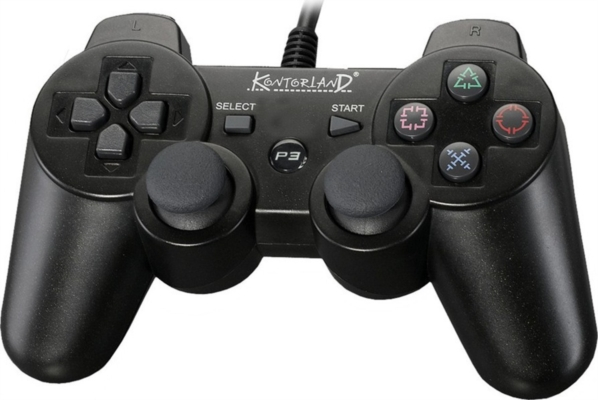Kontorland Ps-3001 Pc Ps3 Titreşimli Analog Joystick