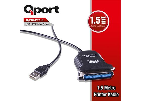 Qport Q-Prlpt1.5 Usb To Lpt Yazıcı Printer