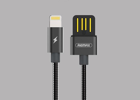 Remax Rc-080i iPhone Karışık Renk Metal Kablo