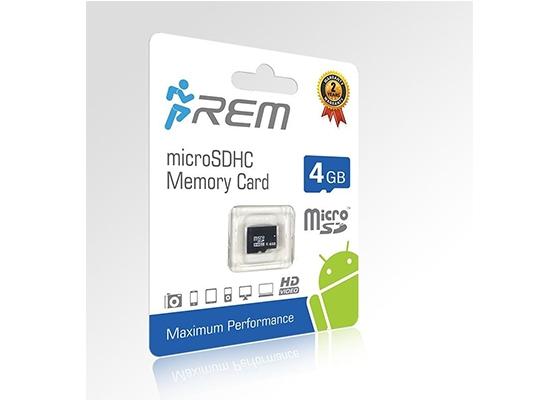 Rem Micro Sdhc 4Gb Memory Card